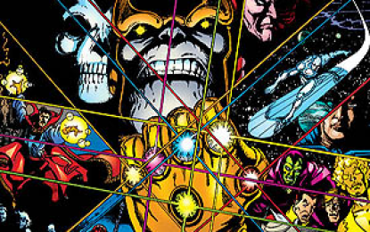 Il guanto dell'infinito – Marvel Gold