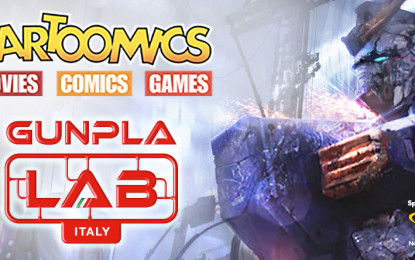Gunpla Lab Italia a Cartoomics.
